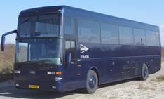 De uitvaartbus voor 22 personen