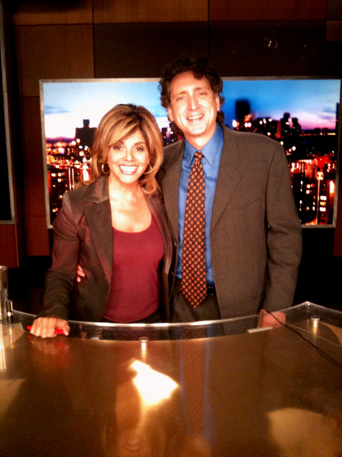 Issues with JVM - on set at HLN in September with Jane Velez Mitchell...