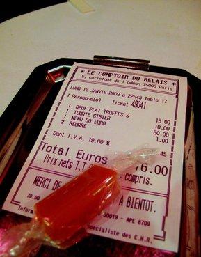 Parijsonline nieuwsbrief nr 121 nazomeren in parijs - Le comptoir du relais restaurant menu ...