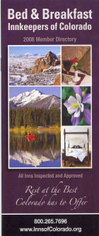 B&B Innkeepers of Colorado 2008 State Guide
