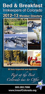 Free 2013 Colorado State Bed and Breakfast Directory available!
