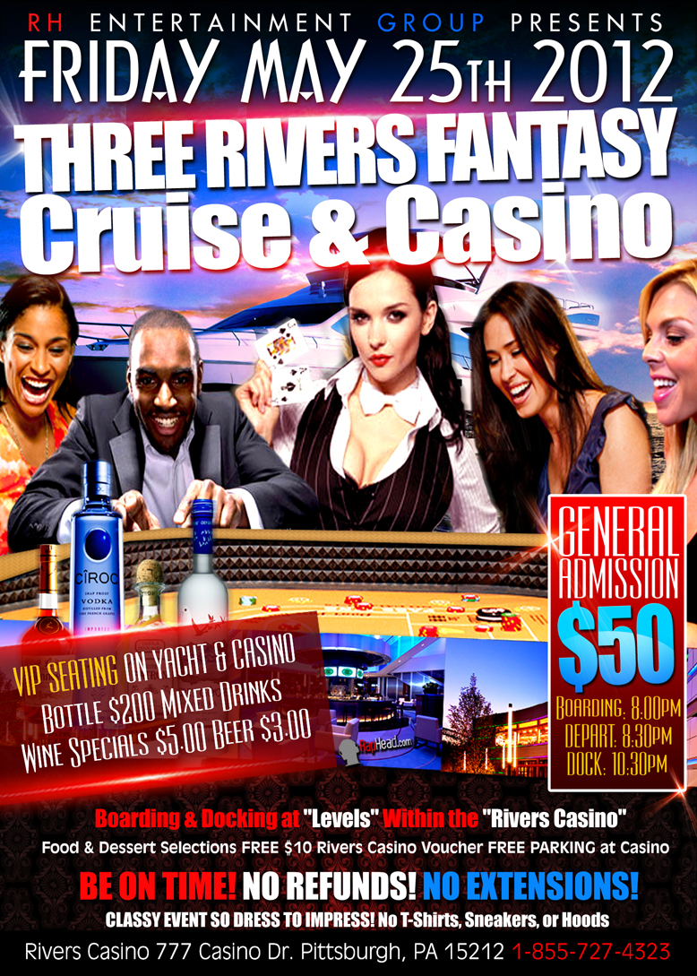 Rivers casino free drinks