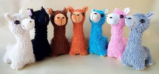 alpaca plush toy new pacabuddies
