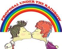 Proposal Under the Rainbow
