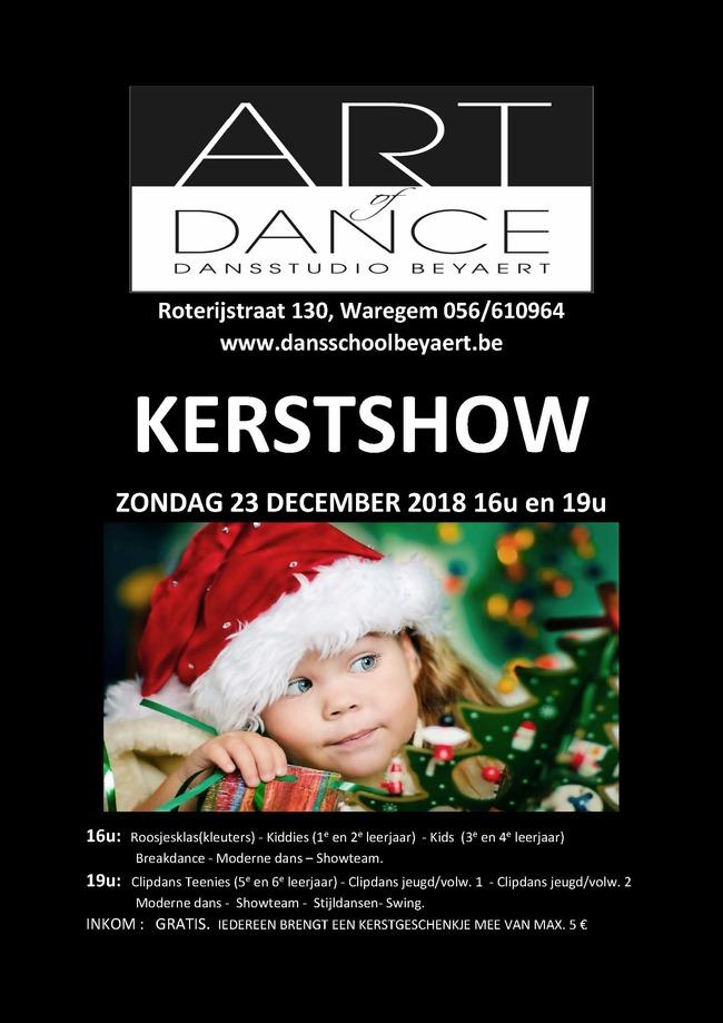 Kerstshow2018