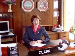 El Paso County Commissioner Sallie Clark
