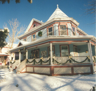 Holidays are special at Holden House and the Clark's lovely Victorian home in Colorado Springs