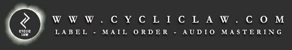Cyclic Law - new Kammarheit and Kave CDs