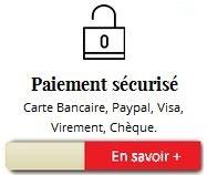 Paiement par CB, Visa, Virement...