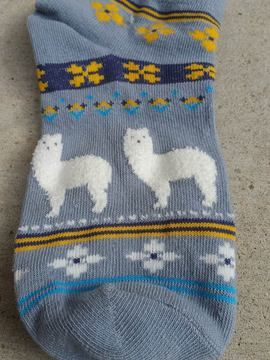 alpaca fun no-show socks