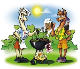 Alpaca BBQ Apron