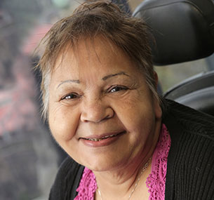 Photo of Gayle Rankine, Chair of First Peoples Disability Network