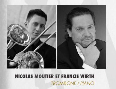 Nicolas MOUTIER au trombone et Francis WIRTH au piano