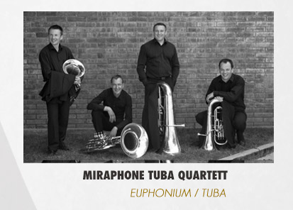 Le Miraphone Tuba quartett