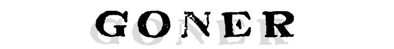 Goner Records Logo