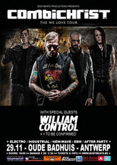 29.11 COMBICHRIST @ Oude Badhuis - Antwerp - B