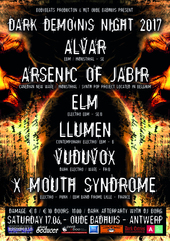 17.06 Dark Demons Night @ Oude Badhuis, Antwerp, B