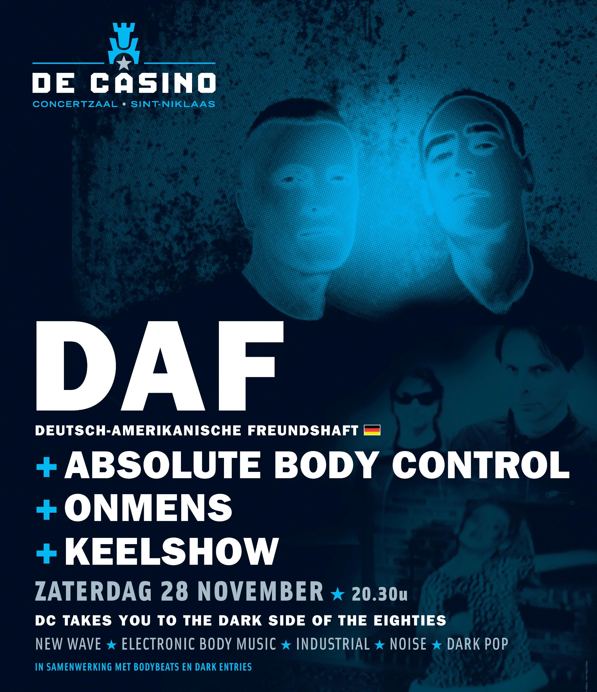 28.11 DAF + Absolute Body Control @ De Casino