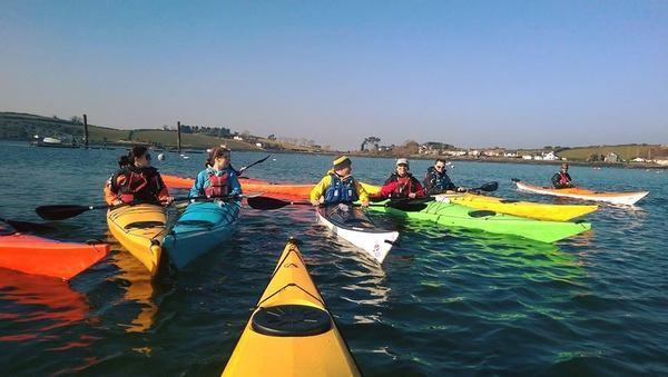 Sea Kayaking this St Patrick's Day
