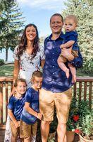 Becca Merkau & Family