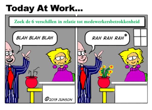 Engagement >> Een zoekplaatje over medewerkersbetrokkenheid (quote week 27 jaar 2013)
