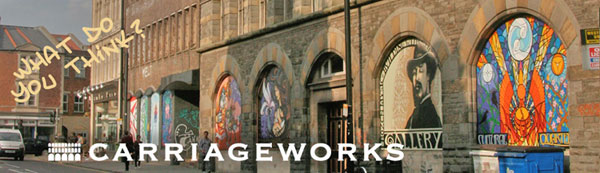 Carriageworks banner