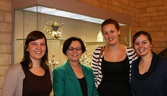 Prof. Dr. Mary Tinetti en stafmedewerkers EVV