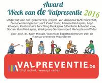 Award Week van de Valpreventie 2016
