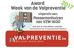 Award Week van de Valpreventie