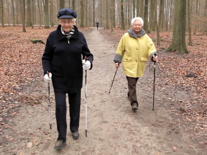 mevr. Paula Semer: Nordic Walking
