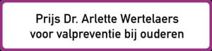 Prijs dr. Arlette Wertelaers