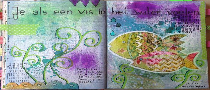 art journaling spreekwoorden
