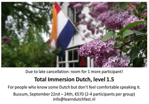 Dutch level 1.5