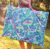 Portfolio Schlepping Bag Pattern by Anything But Boring
