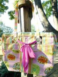 Peek-A-Boo Bag Pattern by Among Brenda's Quilts