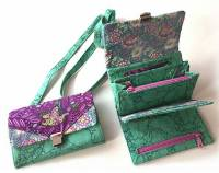 Chatelaine Multi-Featured Wallet Pattern by Among Brenda's Quilts