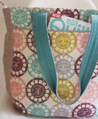 Super Tote Pattern by Anna Graham of Noodlehead