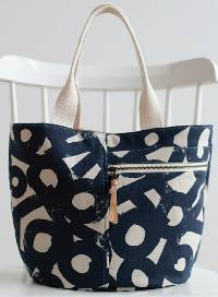 The Crescent Tote Pattern by Noodlehead