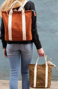 The Buckthorn Backpack & Tote Pattern by Noodlehead