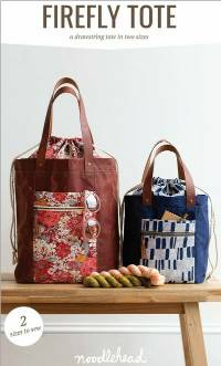 Firefly Tote Pattern by Anna Graham of Noodlehead