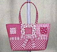 Charming Arm Candy Tote Bag Pattern by Artful Offerings