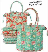 Little Poppins Bags Pattern by Aunties Two