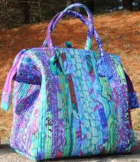 Katahdin Tote Pattern by Aunties Two