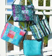 Hands Free Crossbody Bag Pattern by Aunties Two