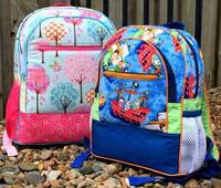 Adventure Time Backpacks Pattern by WhistlePig Creek Productions