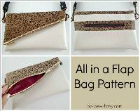 All in a Flap Bag Pattern by So Sew Easy