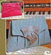 Gershwin & Ellington Clutch Bags Pattern by Charlie's Aunt