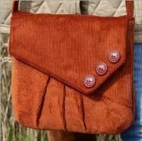 Reepham Messenger Bag Pattern by Charlie's Aunt