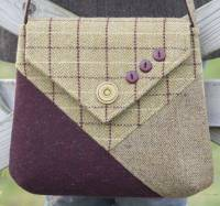 Marsham Messenger Bag Pattern by Charlie's Aunt