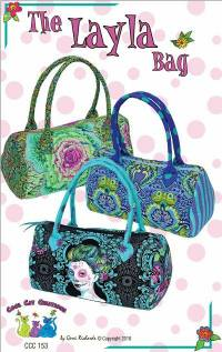 The Layla Bag Pattern by Gerri Richards of Cool Cat Creations